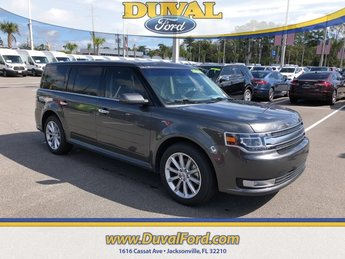 2018 Magnetic Metallic Ford Flex Limited 4 Door SUV FWD