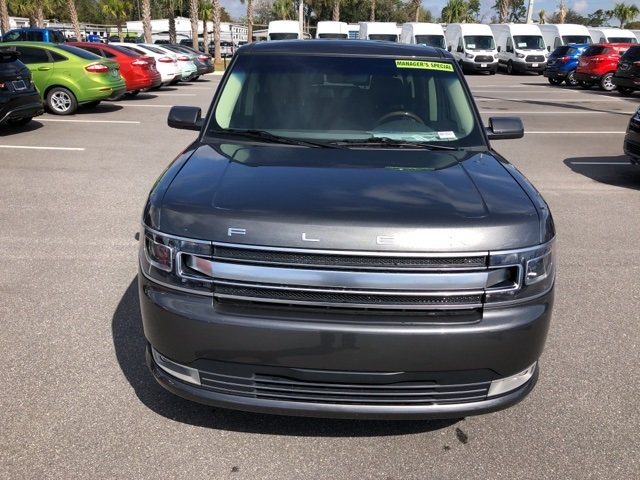 2018 Magnetic Metallic Ford Flex Limited SUV 4 Door 3.5L V6 Ti-VCT Engine FWD