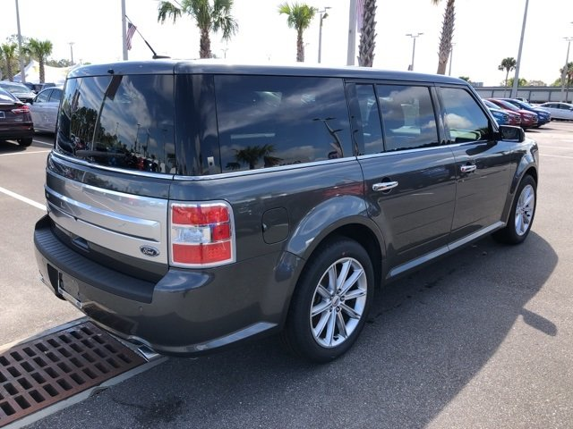 2018 Magnetic Metallic Ford Flex Limited 4 Door FWD Automatic