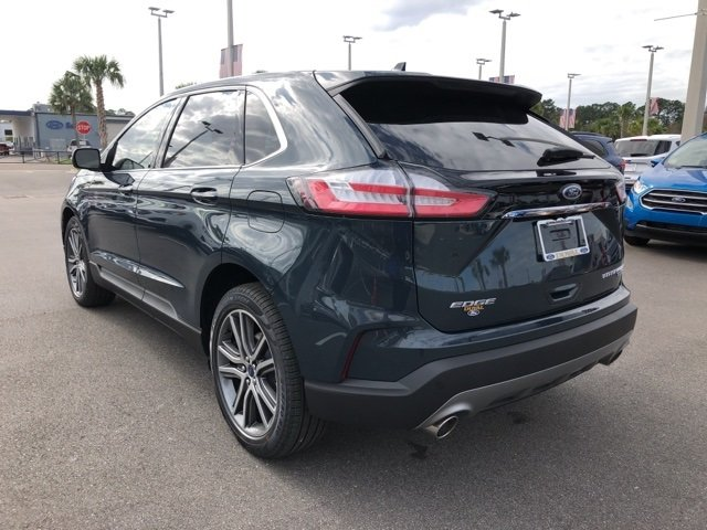 2019 Ford Edge Titanium Automatic FWD 2.0L Engine 4 Door