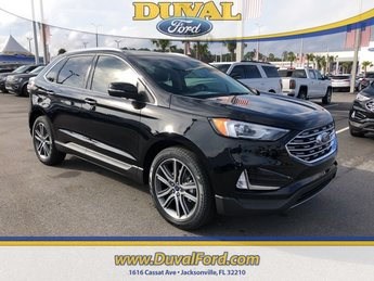 2019 Ford Edge Titanium FWD SUV 2.0L Engine