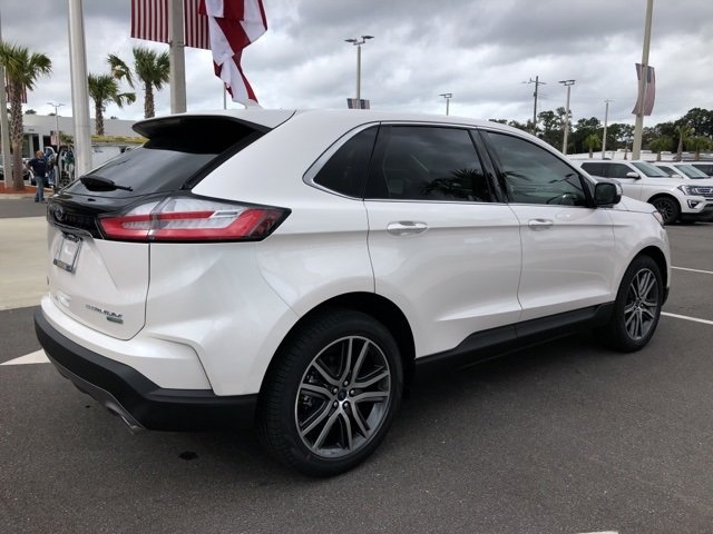 2019 Ford Edge Titanium 4 Door Automatic SUV