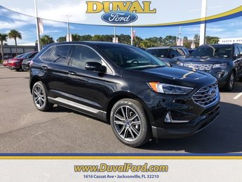 2019 Ford Edge Titanium 2.0L Engine FWD Automatic 4 Door