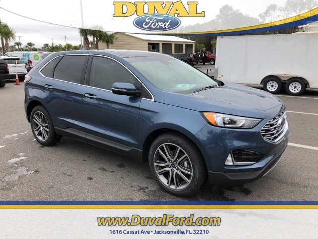 2019 Ford Edge Titanium SUV Automatic FWD EcoBoost 2.0L I4 GTDi DOHC Turbocharged VCT Engine 4 Door
