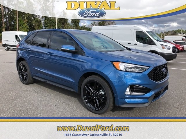 2019 Ford Edge ST 4 Door EcoBoost 2.7L V6 GTDi DOHC 24V Twin Turbocharged Engine AWD
