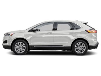 2019 Oxford White Ford Edge SEL 2.0L Engine AWD 4 Door