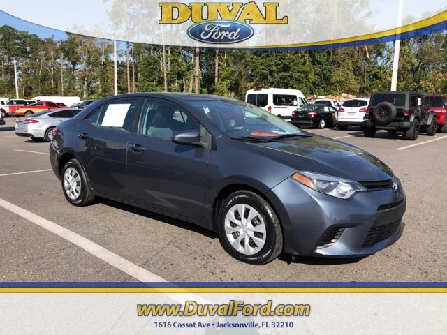 Used 2015 Toyota Corolla L Fwd Sedan For Sale In Jacksonville Fl