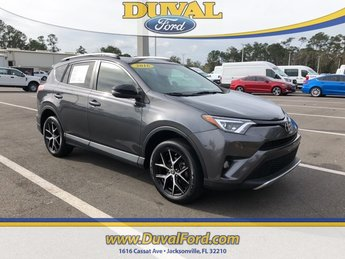 2016 Magnetic Gray Metallic Toyota RAV4 SE 4 Door SUV FWD