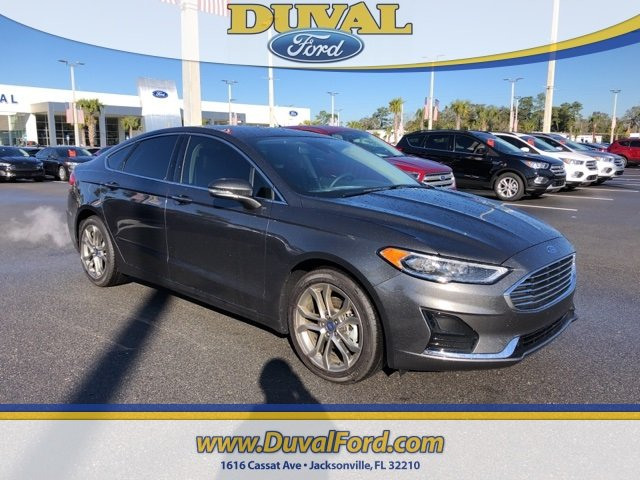 2019 Magnetic Metallic Ford Fusion SEL Automatic EcoBoost 1.5L I4 GTDi DOHC Turbocharged VCT Engine FWD 4 Door Sedan