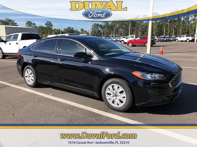 2019 Ford Fusion S Sedan 4 Door Automatic 2.5L i-VCT Engine FWD