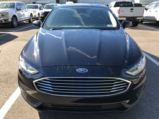 2019 Agate Black Ford Fusion S 4 Door Sedan 2.5L i-VCT Engine