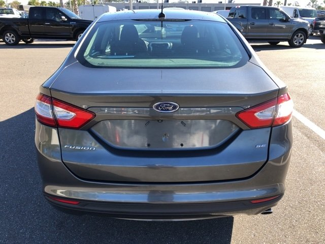 2016 Magnetic Ford Fusion SE Automatic FWD 4 Door 2.5L iVCT Engine Sedan