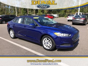 2016 Ford Fusion SE 4 Door Automatic 2.5L iVCT Engine Sedan FWD