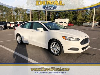 2016 Oxford White Ford Fusion SE 2.5L iVCT Engine Sedan Automatic