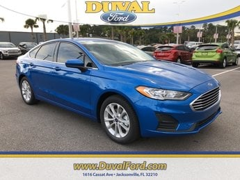 2019 Ford Fusion SE FWD EcoBoost 1.5L I4 GTDi DOHC Turbocharged VCT Engine Sedan 4 Door