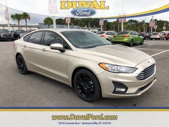 2019 Ford Fusion SE Sedan EcoBoost 1.5L I4 GTDi DOHC Turbocharged VCT Engine FWD