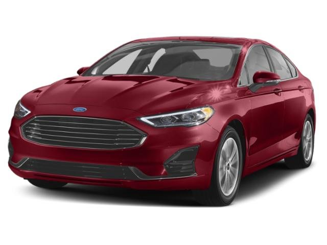 2019 Ruby Red Metallic Tinted Clearcoat Ford Fusion SE EcoBoost 1.5L I4 GTDi DOHC Turbocharged VCT Engine Automatic FWD 4 Door Sedan