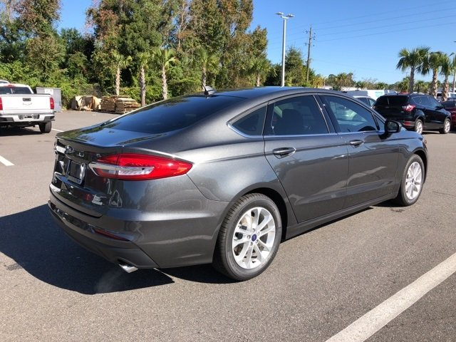 2019 Ford Fusion SE Automatic FWD 4 Door EcoBoost 1.5L I4 GTDi DOHC Turbocharged VCT Engine