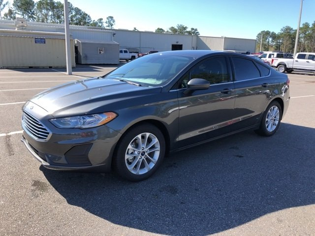 2019 Magnetic Metallic Ford Fusion SE Automatic FWD 4 Door EcoBoost 1.5L I4 GTDi DOHC Turbocharged VCT Engine Sedan