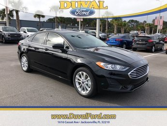 2019 Ford Fusion SE FWD Sedan EcoBoost 1.5L I4 GTDi DOHC Turbocharged VCT Engine 4 Door