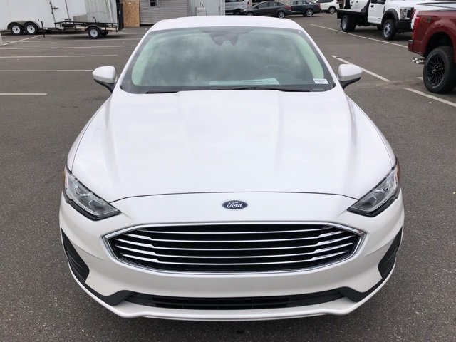 2019 Ford Fusion SE 4 Door Automatic FWD Sedan EcoBoost 1.5L I4 GTDi DOHC Turbocharged VCT Engine
