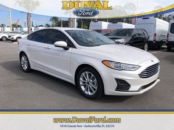 2019 Ford Fusion SE EcoBoost 1.5L I4 GTDi DOHC Turbocharged VCT Engine Sedan FWD Automatic 4 Door