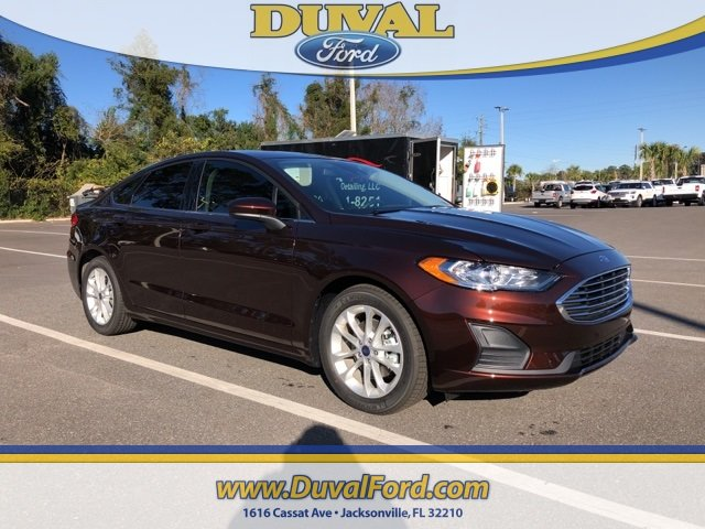 2019 Rich Copper Metallic Tinted Clearcoat Ford Fusion SE EcoBoost 1.5L I4 GTDi DOHC Turbocharged VCT Engine Automatic Sedan