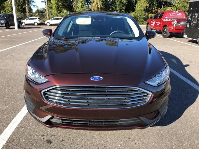 2019 Rich Copper Metallic Tinted Clearcoat Ford Fusion SE Automatic 4 Door FWD EcoBoost 1.5L I4 GTDi DOHC Turbocharged VCT Engine