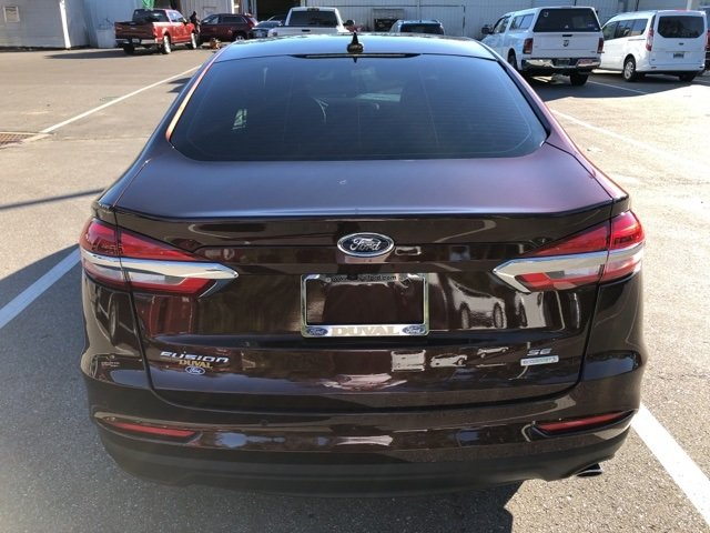 2019 Ford Fusion SE FWD Sedan 4 Door Automatic EcoBoost 1.5L I4 GTDi DOHC Turbocharged VCT Engine