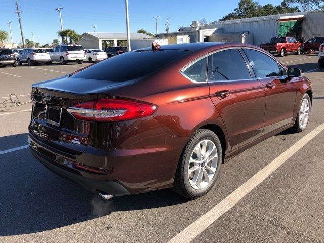2019 Ford Fusion SE FWD Automatic 4 Door EcoBoost 1.5L I4 GTDi DOHC Turbocharged VCT Engine