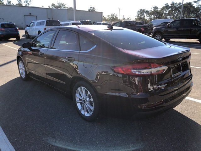 2019 Rich Copper Metallic Tinted Clearcoat Ford Fusion SE FWD Sedan EcoBoost 1.5L I4 GTDi DOHC Turbocharged VCT Engine