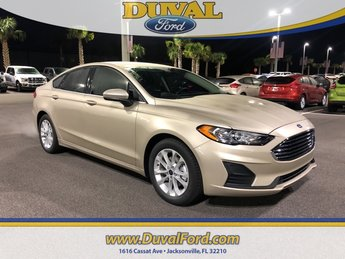 2019 Ford Fusion SE FWD Automatic 4 Door EcoBoost 1.5L I4 GTDi DOHC Turbocharged VCT Engine Sedan