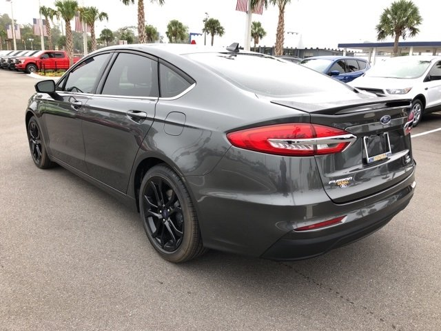 2019 Ford Fusion SE Automatic 4 Door FWD Sedan EcoBoost 1.5L I4 GTDi DOHC Turbocharged VCT Engine