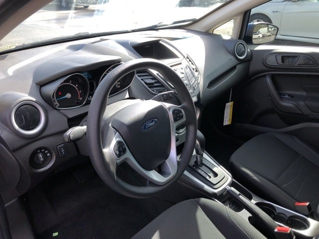 2019 Lightning Blue Metallic Ford Fiesta SE FWD Automatic 4 Door