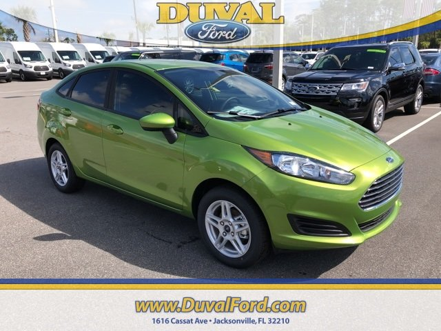 2019 Ford Fiesta SE Sedan Automatic 1.6L I4 Ti-VCT Engine 4 Door FWD
