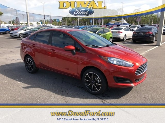 2018 Ford Fiesta SE Sedan 1.6L I4 Ti-VCT Engine 4 Door