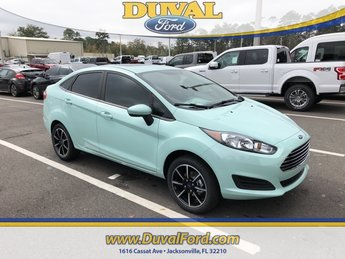 2019 Bohai Bay Mint Metallic Ford Fiesta SE 1.6L I4 Ti-VCT Engine FWD Automatic