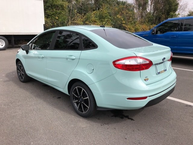 2019 Bohai Bay Mint Metallic Ford Fiesta SE FWD 4 Door Automatic Sedan