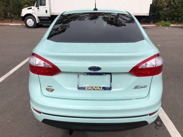 2019 Ford Fiesta SE Sedan 4 Door 1.6L I4 Ti-VCT Engine