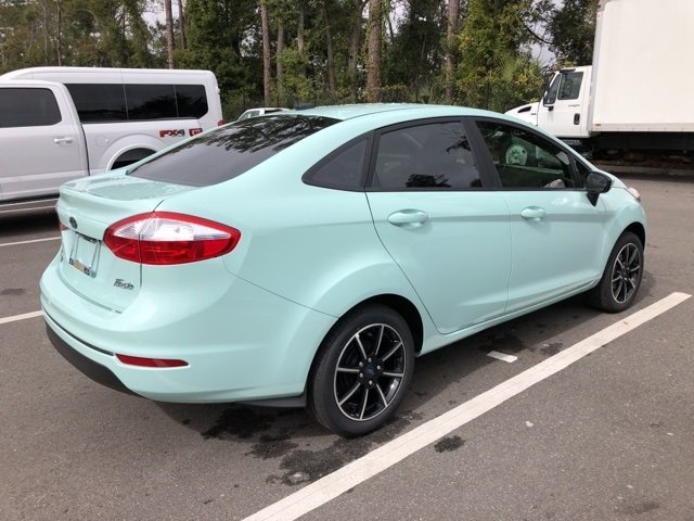 2019 Bohai Bay Mint Metallic Ford Fiesta SE 4 Door Automatic Sedan