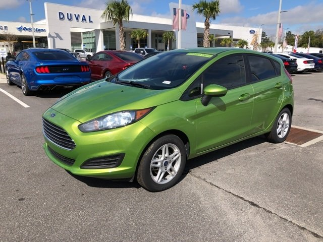 2018 Ford Fiesta SE FWD Hatchback 4 Door 1.6L I4 Ti-VCT Engine Automatic