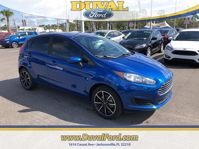 2018 Lightning Blue Metallic Ford Fiesta SE Automatic 1.6L I4 Ti-VCT Engine Hatchback