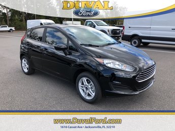 2019 Shadow Black Ford Fiesta SE Hatchback 4 Door FWD Automatic