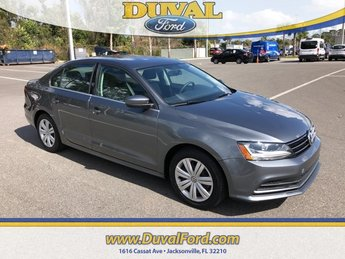 2017 Volkswagen Jetta 1.4T S 1.4L TSI Engine Sedan Manual 4 Door FWD