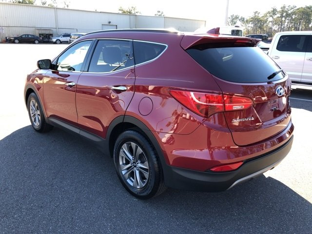 2016 Serrano Red Hyundai Santa Fe Sport 2.4 Base SUV Automatic 4 Door 2.4L I4 DGI DOHC 16V Engine