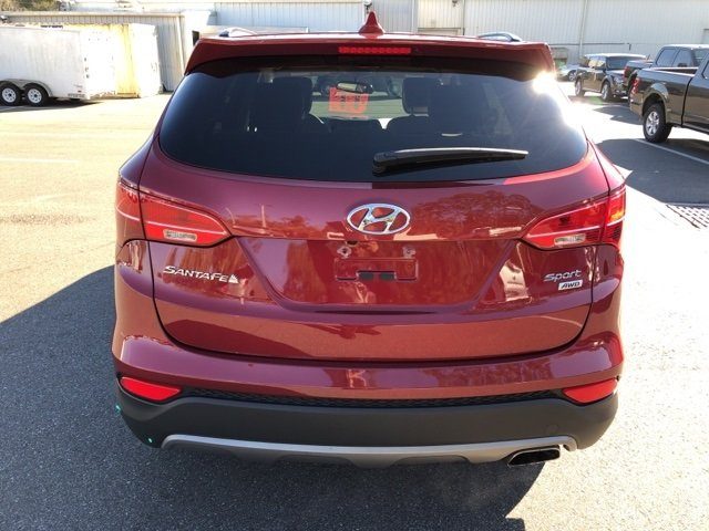 2016 Serrano Red Hyundai Santa Fe Sport 2.4 Base SUV Automatic AWD 2.4L I4 DGI DOHC 16V Engine 4 Door