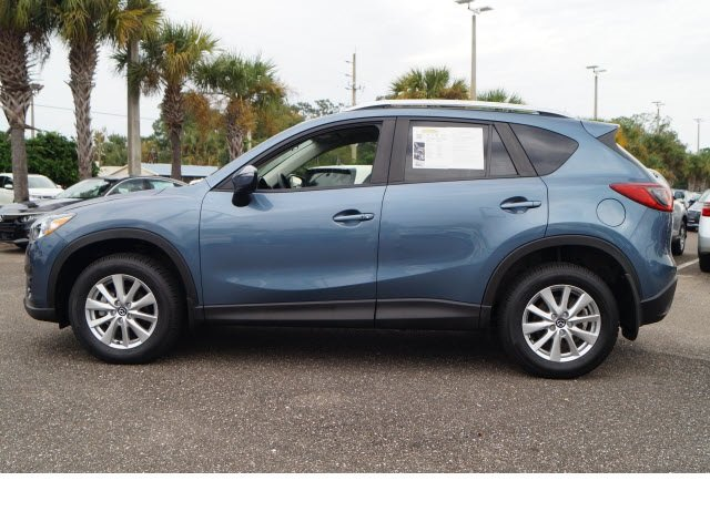 2016 Blue Reflex Mica Mazda CX-5 Touring 4 Door AWD Automatic SKYACTIV® 2.5L 4-Cylinder DOHC 16V Engine