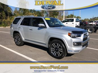2018 Classic Silver Metallic Toyota 4Runner Limited 4X4 4 Door 4.0L V6 SMPI DOHC Engine SUV
