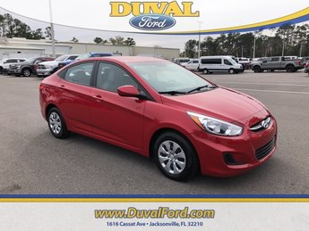 2017 Boston Red Metallic Hyundai Accent SE 4 Door 1.6L I4 DGI DOHC 16V Engine Sedan Automatic