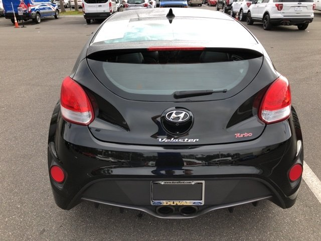 2016 Hyundai Veloster Turbo I4 Engine Manual 3 Door Hatchback FWD